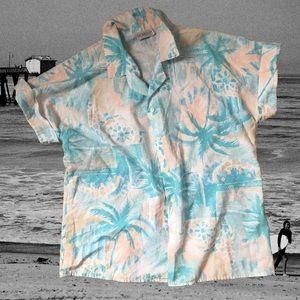 Vintage Giovelli Short Sleeve Button Down Shirt